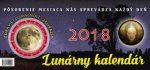Lunárny kalendár 2018 - stolný kalendár