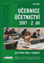 Učebnice Účetnictví II. díl 2017