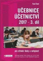 Učebnice Účetnictví III. díl 2017