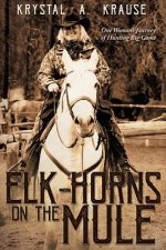 ELK-HORNS ON THE MULE