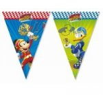 Banner Mickey Roadster Racers flagi