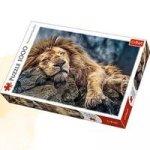 Puzzle 1000 Śpiący lew