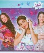 Puzzle 260 Disney Violetta i przyjaciółki