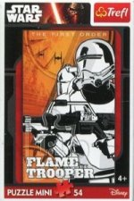 Puzzle 54 Mini Star Wars VII Flame Trooper