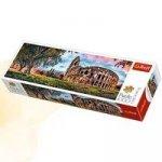 Panoramatické puzzle Koloseum za úsvitu