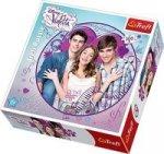 Puzzle Okrągłe Violetta i przyjaciele 300