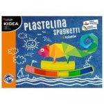 Plastelina spaghetti Kidea 8 kolorów