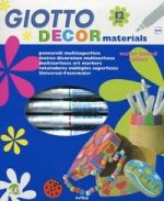 Giotto Decor materials Flamastry 12 sztuk