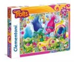 Puzzle SuperColor Trolls 104