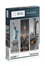Puzzle Trittico New York 3x500