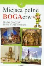 Miejsca pełne BOGActw 4 Religia Zeszyt ćwiczeń
