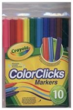 Markery Crayola Color clicks 10 kolorów