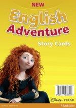 New English Adventure PL 1/GL Starter B Storycards