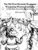 Old West Skirmish Wargames