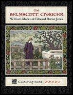 Kelmscott Chaucer William Morris & Edward Burne-Jones Coloring Book