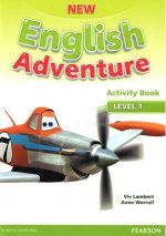 New English Adventure 1 Activity Book w/ Song CD Pack