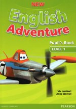 New English Adventure 1 Pupil's Book w/ DVD Pack