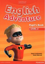 New English Adventure 2 Pupil's Book w/ DVD Pack