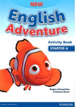 New English Adventure STA A Activity Book w/ Song CD Pack
