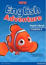New English Adventure STA A Pupil's Book w/ DVD Pack