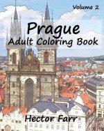 Prague - Adult Coloring Book, Volume 2