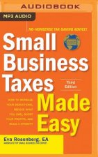 Small Business Taxes Made Easy, Third Edition: How to Increase Your Deductions, Reduce What You Owe, Boost Your Profits, and Build a Dynasty