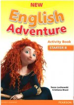 New English Adventure STA B Activity Book w/ Song CD Pack