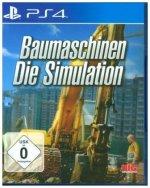 Baumaschinen - Die Simulation (PlayStation PS4)