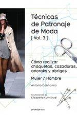 TECNICAS DE PATRONAJE DE MODA VOL 3