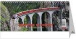 Romantika na kolejích - železniční kalendář 2018