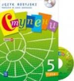Stupieni Jezyk rosyjski 5 Podrecznik z plyta CD