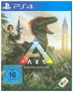 ARK, Survival Evolved, 1 PS4-Blu-Ray Disc