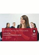 CIMA BA3 Fundamentals of Financial Accounting : Passcards