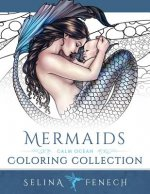 Mermaids - Calm Ocean Coloring Collection
