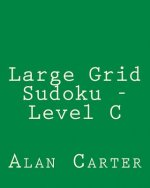 Large Grid Sudoku - Level C: Easy to Read, Large Grid Sudoku Puzzles