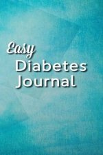 Easy Diabetes Journal: Tranquil Blue
