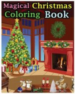 Magical Christmas Coloring Book
