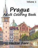 Prague: Adult Coloring Book, Volume 1: City Sketch Coloring Book