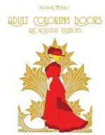 Adult Coloring Books Art Nouveau Fashions