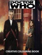 Doctor Who Creative Colouring Book: Cybermen, K-9, Rose, Rory, Amy, David Tennant, Matt Smith, The Master, Present, Gift, Kid, Child, Children, TV Ser