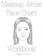 Makeup Artist Face Chart Workbook: Sigga Edition