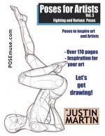 Poses for Artists Volume 3 - Fighting and Various Poses: An Essential Reference for Figure Drawing and the Human Form