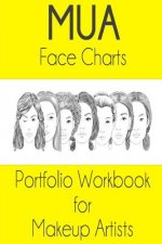 Mua Face Chart Portfolio Workbook for Makeup Artists