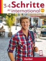 Schritte international Neu 3+4. Arbeitsbuch + 2 CDs zum Arbeitsbuch