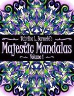 Majestic Mandalas: 50+ Unique, Stunning Hand Drawn Mandalas to Color
