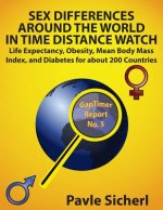 Sex Differences Around the World in Time Distance Watch: Life Expectancy, Obesity, Mean Body Mass Index, and Diabetes for about 200 Countries