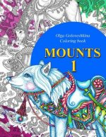 Mounts: Coloring book