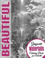 Beautiful Grayscale Waterfalls Adult Coloring Book: (Grayscale Coloring) (Art Therapy) (Adult Coloring Book) (Realistic Photo Coloring) (Relaxation)