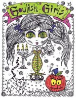 Goulish Girls Coloring Book: Goulish Girls Coloring Book