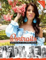 Portraits Grayscale Coloring Book Vol.1: Grayscale Coloring Pages (Adult Coloring Books)